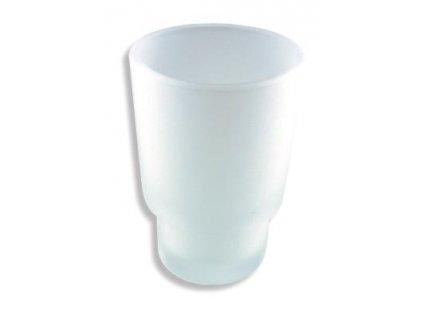 Náhradní sklenička Metalia 1 sklo pískované