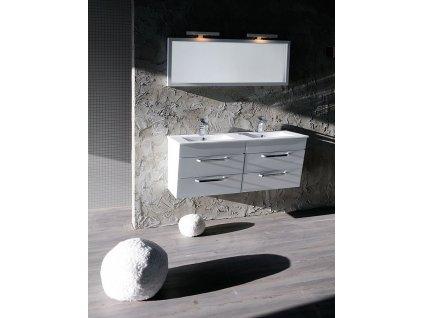 KALI umyvadlová skříňka 120x50x45cm, bílá