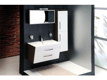 KALI umyvadlová skříňka 89x50x45cm, bílá