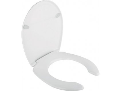 URAN PROJECT WC sedátko pro postižené, duroplast, bílá