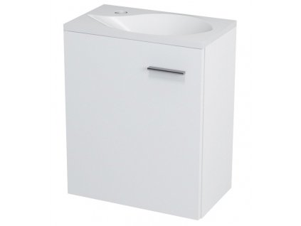 LATUS II umyvadlová skříňka 41,6x50x25cm, bílá