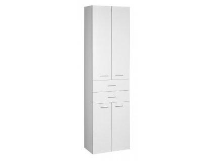 ZOJA/KERAMIA FRESH skříňka vysoká se zásuvkami 50x184x29cm, dub platin