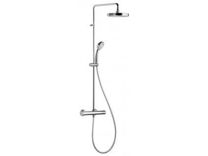 BASIC sprchový sloup s termostatickou baterií, chrom