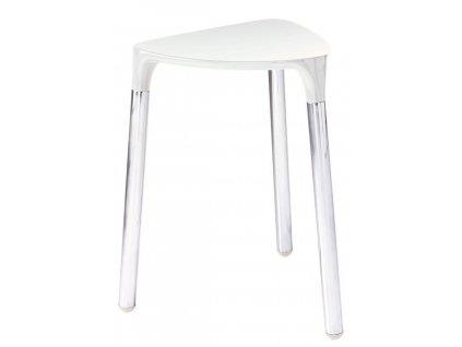YANNIS koupelnová stolička 37x43,5x32,3 cm, bílá