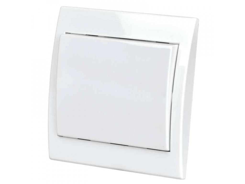Vypínač TESLA PRAKTIK 4FN58000.901C.1 biely