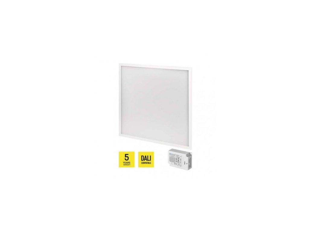 LED panel DALI 60×60, štvorcový vstavaný biely, 40W n. b.