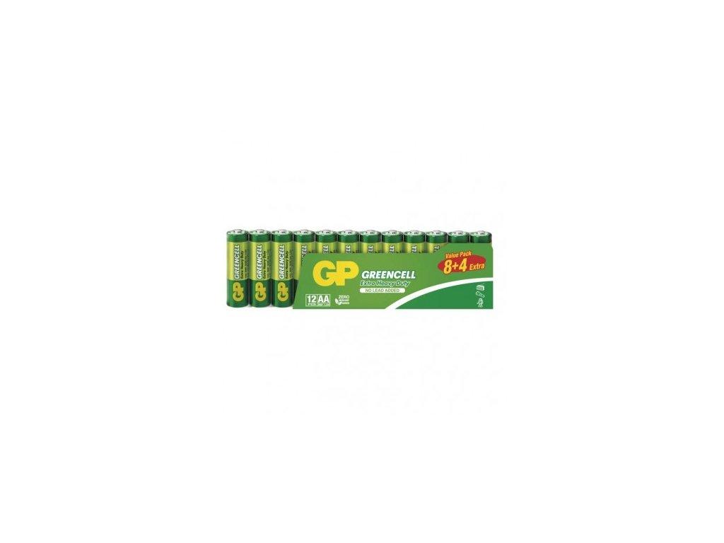 Zinko-chloridová batéria GP Greencell R6 (AA)