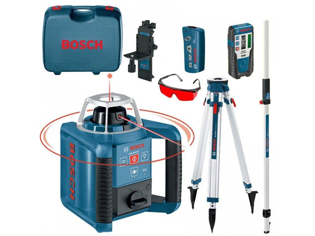 Rotační laser Bosch GRL 300 HV Set + BT170HD + GR240 061599405U