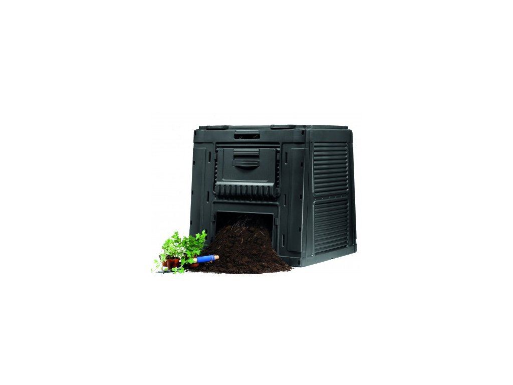 E-kompostéru bez podstavce 450 L antracit