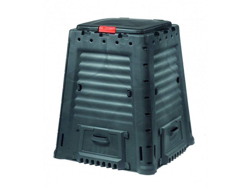 MEGA kompostér 650 L bez podstavce - antracit  + VOUCHER - slevový kupón