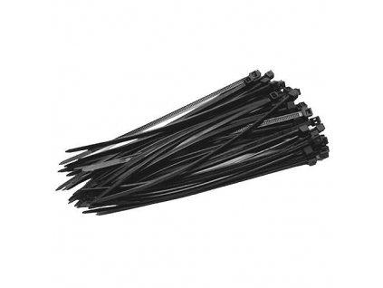 Páska STREND Pro CT66BL, 300x4,8 mm, 50 ks, černá, nylon, vázací