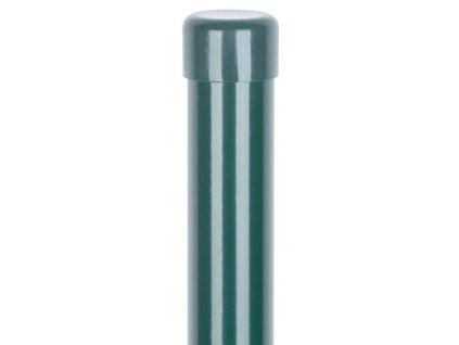 Sloupek Retic BPL 38/2500 mm, zelený, Zn + PVC, čepička