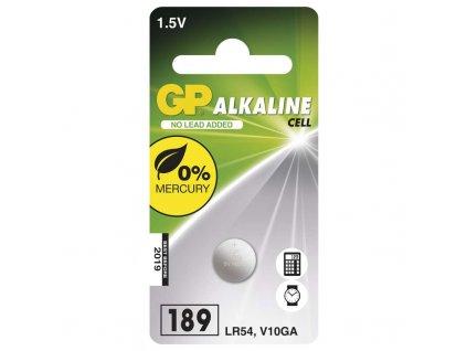 Batéria GP alkalická gombíková 189
