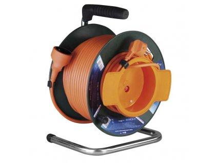 PVC predlžovací kábel na bubne - spojka 50m