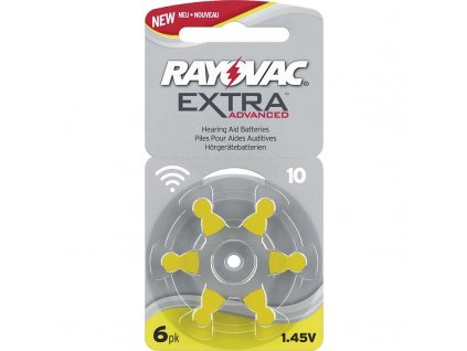 Batéria RAYOVAC V10AU/6 do načúvacích prístrojov  + VOUCHER - slevový kupón