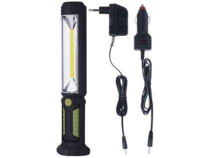LED nabíjacie svietidlo 5W COB LED  + VOUCHER - slevový kupón