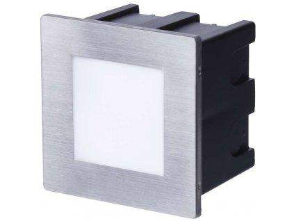 LED orientačné svietidlo, štvorec 1,5 W teplá biela IP65  + VOUCHER - slevový kupón