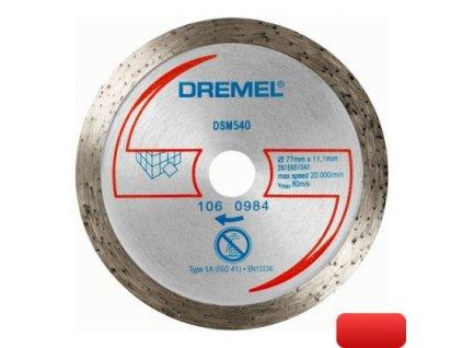 DREMEL DSM20 diamantový řezací kotouč na dlaždice (DSM540)