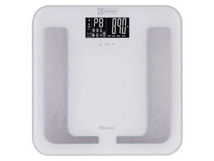 Digitálna osobná váha EV107, biela  + VOUCHER - slevový kupón