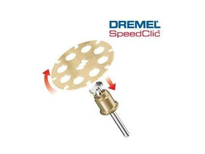 Řezné kotouče na řezání ve dřevě s rychloupínáním DREMEL® SC544 SpeedClic™. 38,0 mm (1 ks)