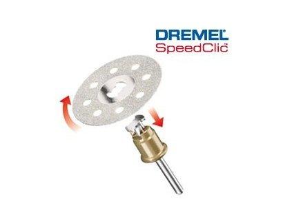 Diamantové řezné kotouče s rychloupínáním DREMEL®SC545  SpeedClic™. 38,0 mm (1 ks)