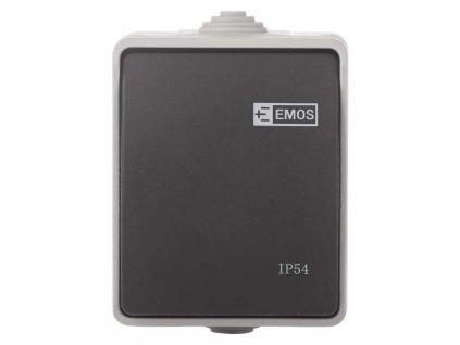 Prepínač č.7 IP54 nástenný