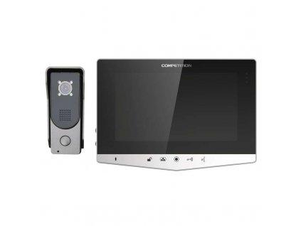 Domáci videotelefón, farebná sada H2030 strieborný  + VOUCHER - slevový kupón