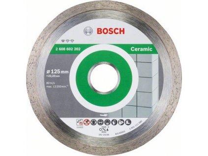 BOSCH Standard for Ceramic Diamantový dělicí kotouč, 125 x 22,23 x 1,6 x 7mm