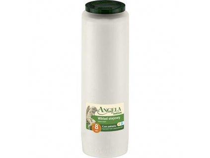 Napln bolsius Angela NR08 biela, 343x066 mm, 185 h, 550 g, olej