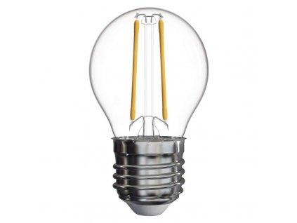 LED žiarovka Filament Mini Globe 2W E14 teplá biela