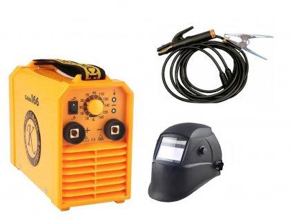 OMICRON GAMA 166 svářecí inventor + kabely 3m-16 + samostmívací svářecí maska TS-616  SERVIS EXCLUSIVE