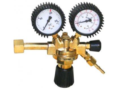Redukční ventil argon/CO2, ø 63 mm