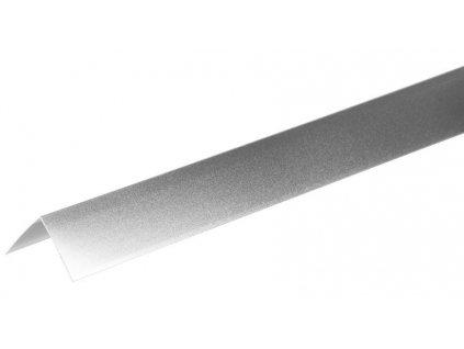 Lišta Strend Pro CS147, Alu 1500x40x0,8 mm, strieborná matná, 0,8 mm, rohová