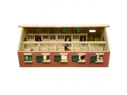 Kids Globe Stajňa pre kone s 9 boxmi 1:32