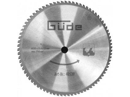 Güde Pilový kotouč pro řezání kovu vhodný k pile GMK 350 T