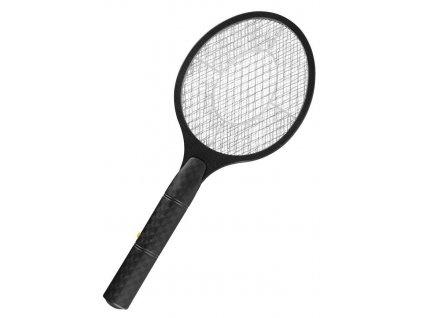 Lapac hmyzu Strend Pro, elektricky, raketa, cierny, 47x18cm