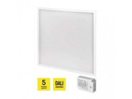 LED panel DALI 60×60, štvorcový vstavaný biely, 40W n.b. UGR