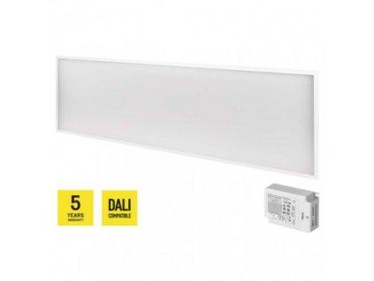 LED panel DALI 30×120, obdĺžnikový vstavaný b., 40W n.b. UGR