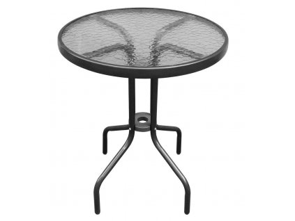 Stol LEQ NESTA, rattan hnedý, stôl 71x60 cm, pre set 802412