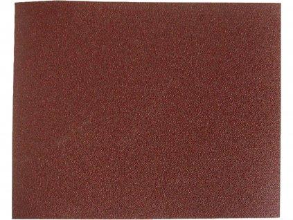 Plátno brúsne, korund, 230x280mm, 10ks, P120
