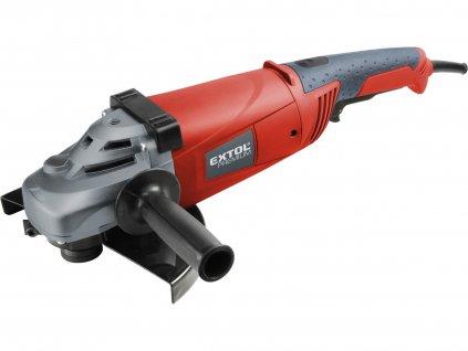 Brúska uhlová, príkon 2350W, priemer 230mm, EXTOL PREMIUM