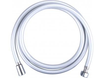 hadice sprchová, stříbrná, 180cm, PVC, FRESHHH