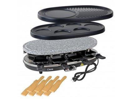 DENNER Elektrický raclette gril 3v1 Tessin