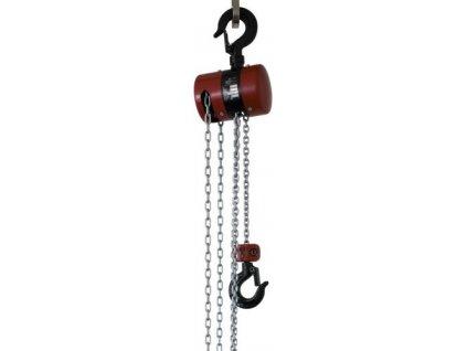ŘETEZOVÝ KLADKOSTROJ /počet nosných pramenů,rozměr řetězu/ Z 100-2 / 5 t - 3 m 2pram. 11x31