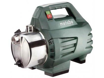 METABO P 4500 Inox Zahradní čerpadlo  Rozšíření záruky na 3 roky zdarma.|SERVIS EXCLUSIVE