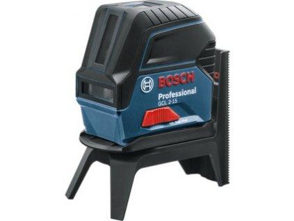 Bosch GCL 2-15, RM 1 Zkříženě-bodový laser, kufr