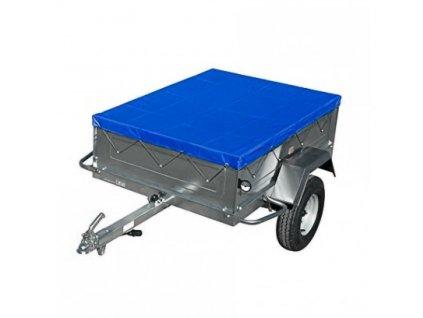 DEMA Krycia plachta na prívesný vozík s gumeným lanom 207x114 cm