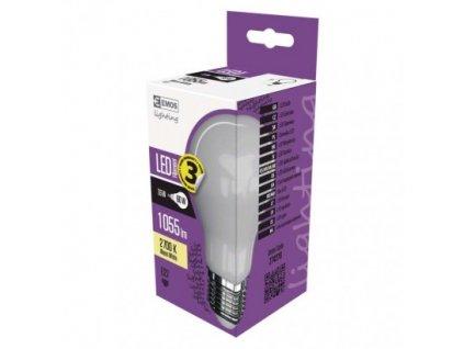 LED žiarovka Filament A60 7,6W E27 teplá biela