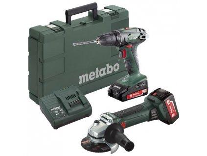 METABO Combo Set 2.4.3 18 V Akumulátorové stroje v sadě  Rozšíření záruky na 3 roky zdarma.