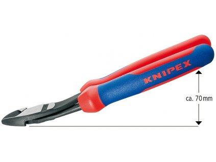 Knipex Silové boční štípací kleště 200